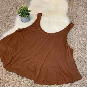 Burnt Orange American Eagle Tank Top